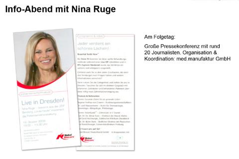 Info-Abend mit Nina Ruge