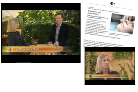Sabine Sarrach im ZDF, Volle Kanne – Service täglich